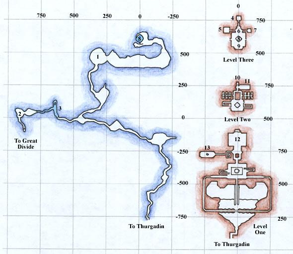 EQ Icewell Keep Maps