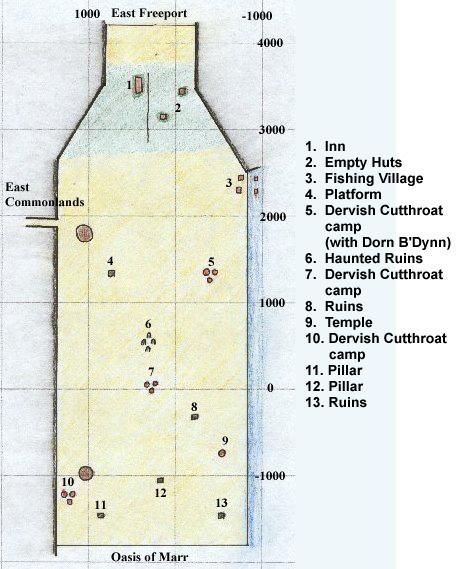 EQ North Ro maps