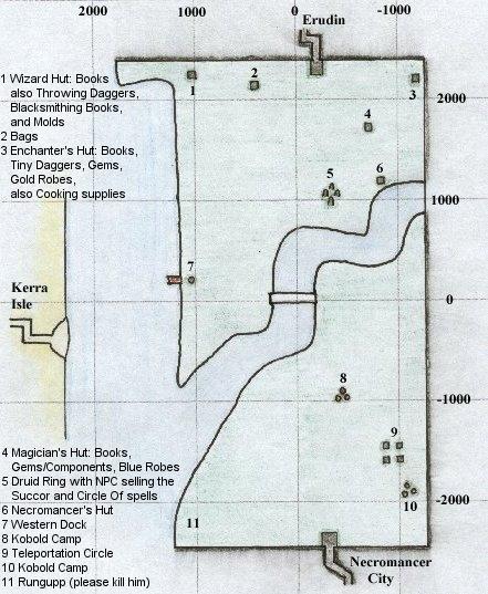 EQ Toxxulia Forest maps