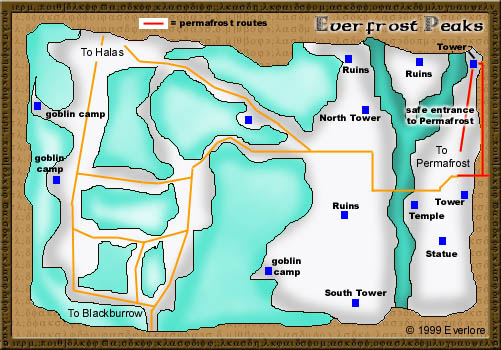 Everquest everfrost map   N00 Everfrost Map  2019-05-25