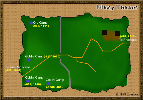EQ Misty Thicket maps