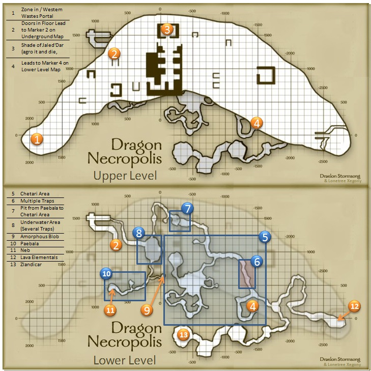 eq dragon necropolis maps