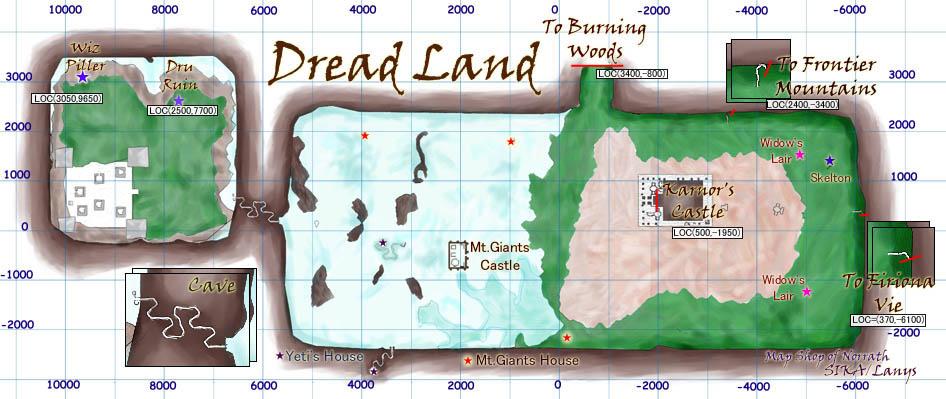 EQ Dreadlands maps