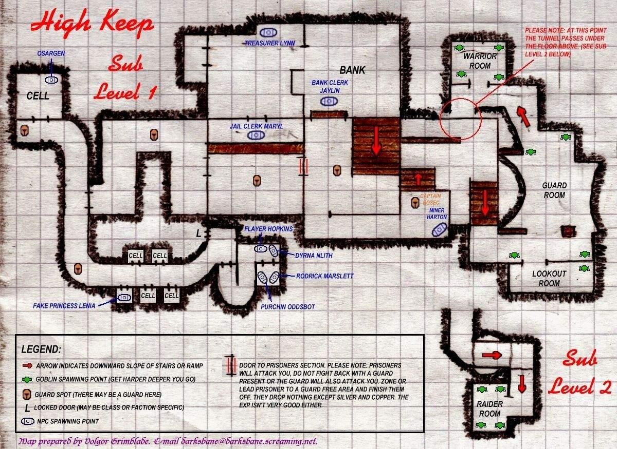 EQ High Keep maps