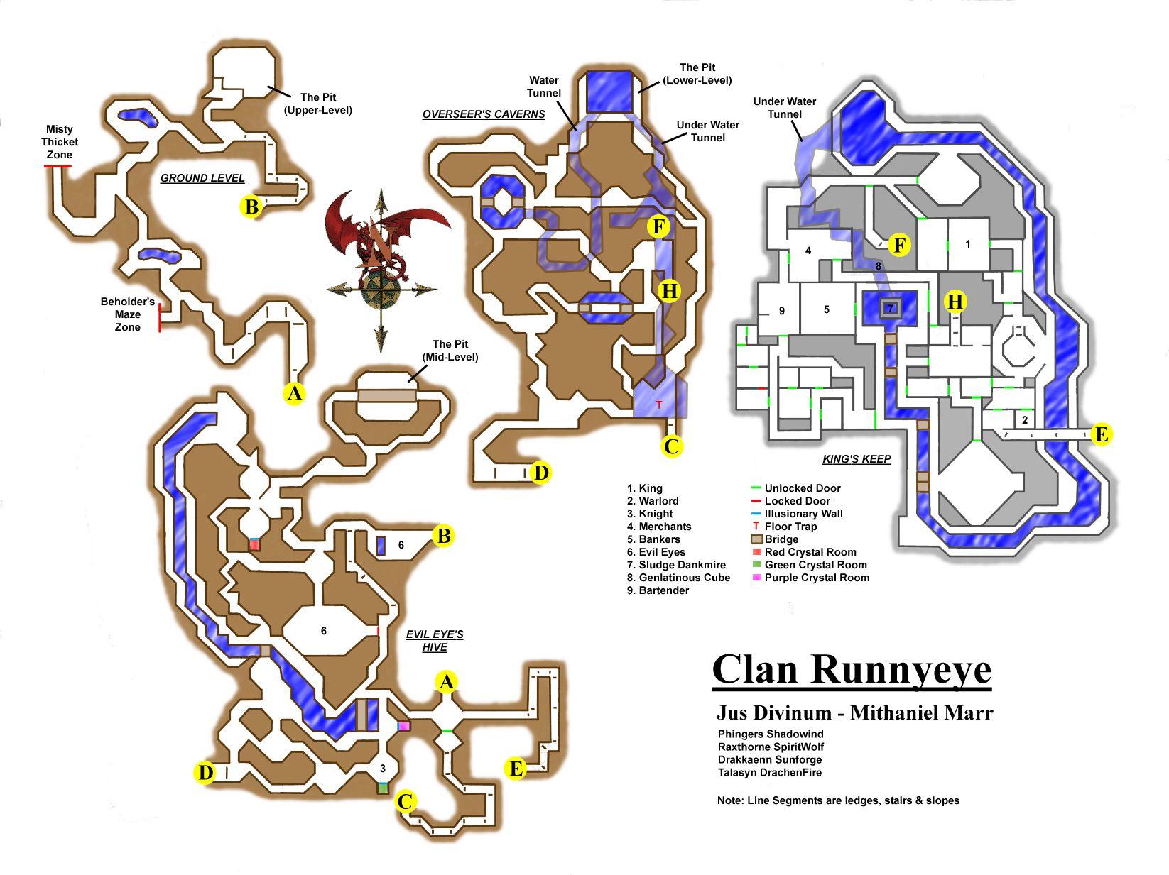 EQ Clan RunnyEye maps