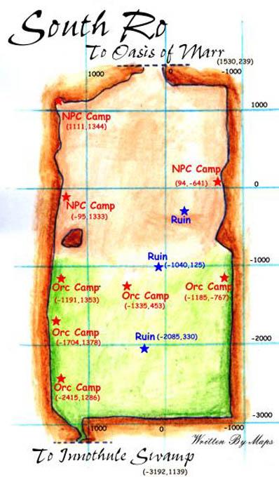 EQ South Ro maps