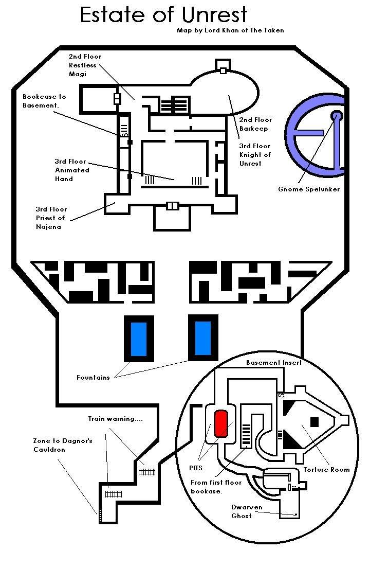 EQ Unrest maps