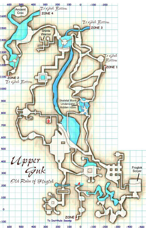 Upper Guk Map EQ Upper Guk maps Upper Guk Map
