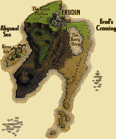 The EQ EverQuest Map Preserve -- a Classic, Kunark, & Velious archive